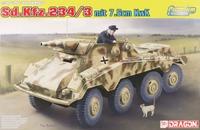 Sd.Kfz.234/3 mit 7.5cm KwK тяжелый бронеавтомобиль. 6786 Dragon 1:35