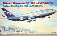 «Ильюшин 96-300» Авиалайнер АК «Аэрофлот». ЕЕ14410 ВЭ 1:144