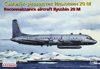Ил-20М Самолет разведчик. ЕЕ14489 ВЭ 1:144