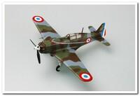 """""""Моран-Солнье"""" MS.406С-1  (3/4 Escadrille, GC II/3, Armee de l'Air) истребитель май 1940 г. 36325 Easy Model 1:72"""