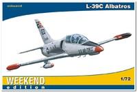 """L-39C  """"Альбатрос"""" учебно-тренировочный самолёт. 7418 Eduard 1:72"""