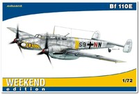 Bf 110E  истребитель-бомбардировщик. 7419 Eduard 1:72