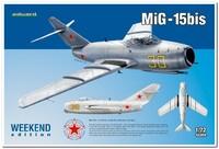 МиГ-15бис  истребитель. 7424 Eduard 1:72
