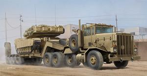 М911 С-НЕТ с М747 танковый тягач с полуприцепом . Hobby Boss 85519 1:35
