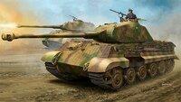 Tiger II Porsche Turret (Королевский тигр с башней Порше) тяжелый танк с Циммеритом - 84530 Hobby Boss 1:35