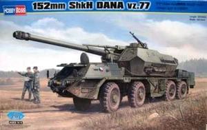 ShKH Vz-77 DANA 152-мм САУ Дана - 85501 Hobby Boss 1:35