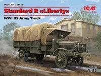Standard B Liberty грузовик WWI - 35650 ICM 1:35