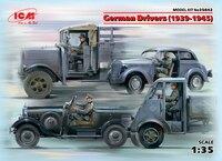 Германские водители 1939-1945 4 фигурки - 35642 ICM 1:35