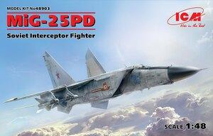 МиГ-25ПД перехватчик - 48903 ICM 1:48