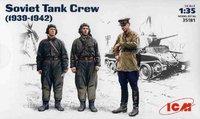 Советский танковый экипаж (1939-1942). 35181 ICM 1:35