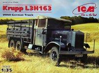 Krupp L3H163 грузовик Вермахта. 35461 ICM 1:35