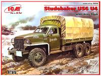 Studebaker US6 с тентом и лебедкой. 35514 ICM 1:35