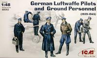 Пилоты и техники Люфтваффе (1939-1945). 48082 ICM 1:48