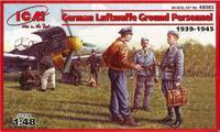 Наземный персонал Люфтваффе (1939-45). 48085 ICM 1:48