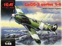 ЛаГГ-3 (1 серия) истребитель. 48091 ICM 1:48