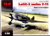 ЛаГГ-3 (7-11 серия) истребитель. 48093 ICM 1:48