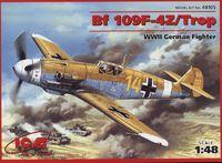 Bf.109F-4Z/Trop истребитель Люфтваффе. 48105 ICM 1:48