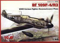 Bf.109F-4/R3 истребитель Люфтваффе. 48106 ICM 1:48