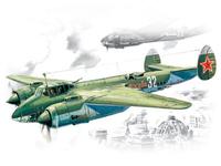 Ту-2 бомбардировщик ВВС Красной Армии. 72031 ICM 1:72