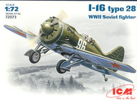 И-16 тип 28 истребитель. 72073 ICM 1:72