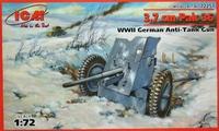 Pak 35/36 3.7 cm противотанковая пушка. 72251 ICM 1:72