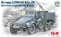 Krupp L2H143 Kfz.70 легкий грузовой автомобиль. 72451 ICM 1:72