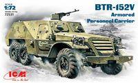 БТР-152В бронетранспортер. 72531 ICM 1:72