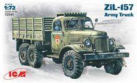 Зил-157 армейский грузовой автомобиль. 72541 ICM 1:72