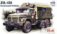 Зил-131 подвижный командный пункт. 72812 ICM 1:72