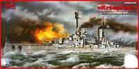 SMS Kronprinz Wilhelm линейный корабль Кайзеровского флота. S.003 ICM 1:350