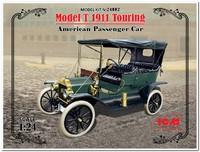 Model T 1910 Touring пассажирский автомобиль. 24002 ICM 1:24