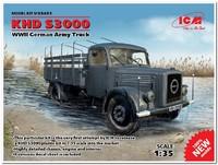 KHD S3000 грузовой автомобиль Вермахта. 35451 ICM 1:35