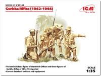Гуркхские стрелки (1944). 35563 ICM 1:35