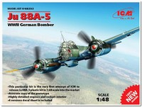Ju.88A-5 бомбардировщик Люфтваффе. 48232 ICM 1:48