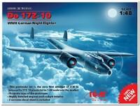 Do.17Z-10 ночной истребитель Люфтваффе. 48243 ICM 1:48