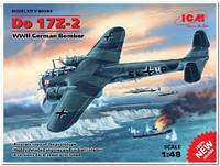 Do.17Z-2 бомбардировщик Люфтваффе. 48244 ICM 1:48