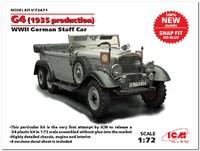 Typ G4 обр. 1935 представительский автомобиль. 72471 ICM 1:72