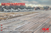ПАГ-14 Плиты аэродромного покрытия. 72214 ICM 1:72