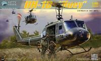 UH-1D Huey (Ирокез) военно-транспортный вертолет - KH80154 Kitty Hawk 1:48