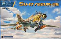 Су-17 (Су-22) УМ3К учебно-боевой истребитель-бомбардировщик. 80147 Kitty Hawk 1:48