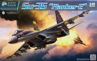 Су-35 истребитель - KH80142 Kitty Hawk 1:48