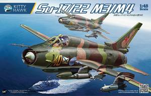 Су-17М3 истребитель-бомбардировщик - 80144 Kitty Hawk 1:48
