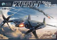 XF5U-1 опытный палубный истребитель. KH80135 Kitty Hawk 1:48