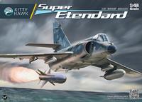 «Cупер Этандар» (Super Étendard) палубный истребитель-бомбардировщик. KH80138 Kitty Hawk 1:48
