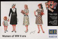 Женщины WWII. MB35148 Masterbox 1:35