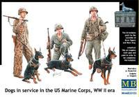 Собаки на службе USMC. MB35155 Masterbox 1:35