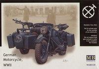 Германский мотоцикл - MB3528 Master Box 1:35