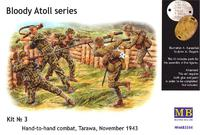 "Кровавый атолл Tarawa ""рукопашная"" 1943. MB3544 Masterbox 1:35"