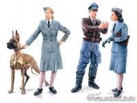 Женщины на войне: Помощницы Люфтваффе. MB3557 Masterbox 1:35