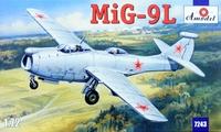 МиГ-9Л летающая лаборатория. 7243 Amodel 1:72